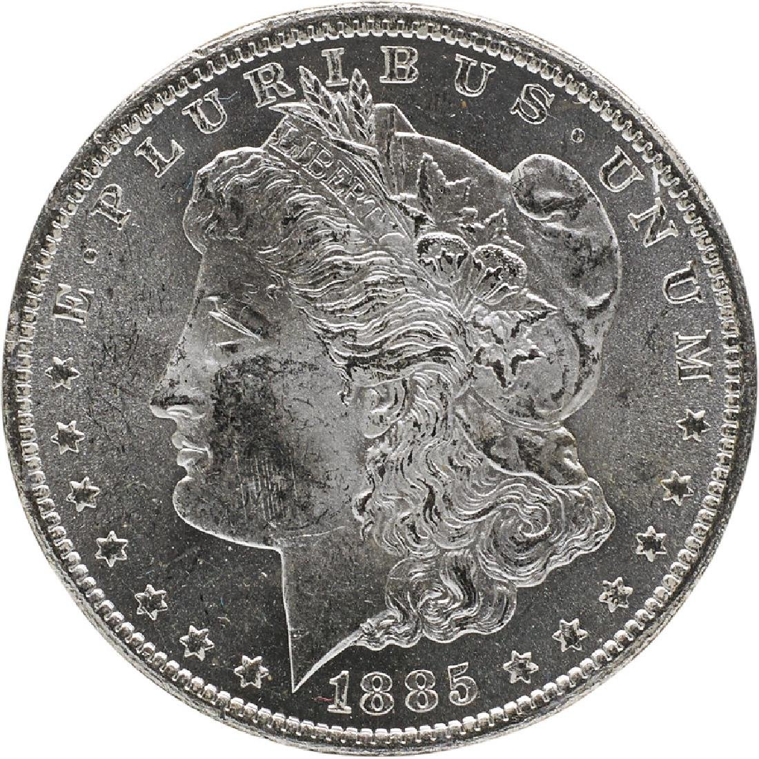 U.S. 1885-CC GSA MORGAN $1 COIN