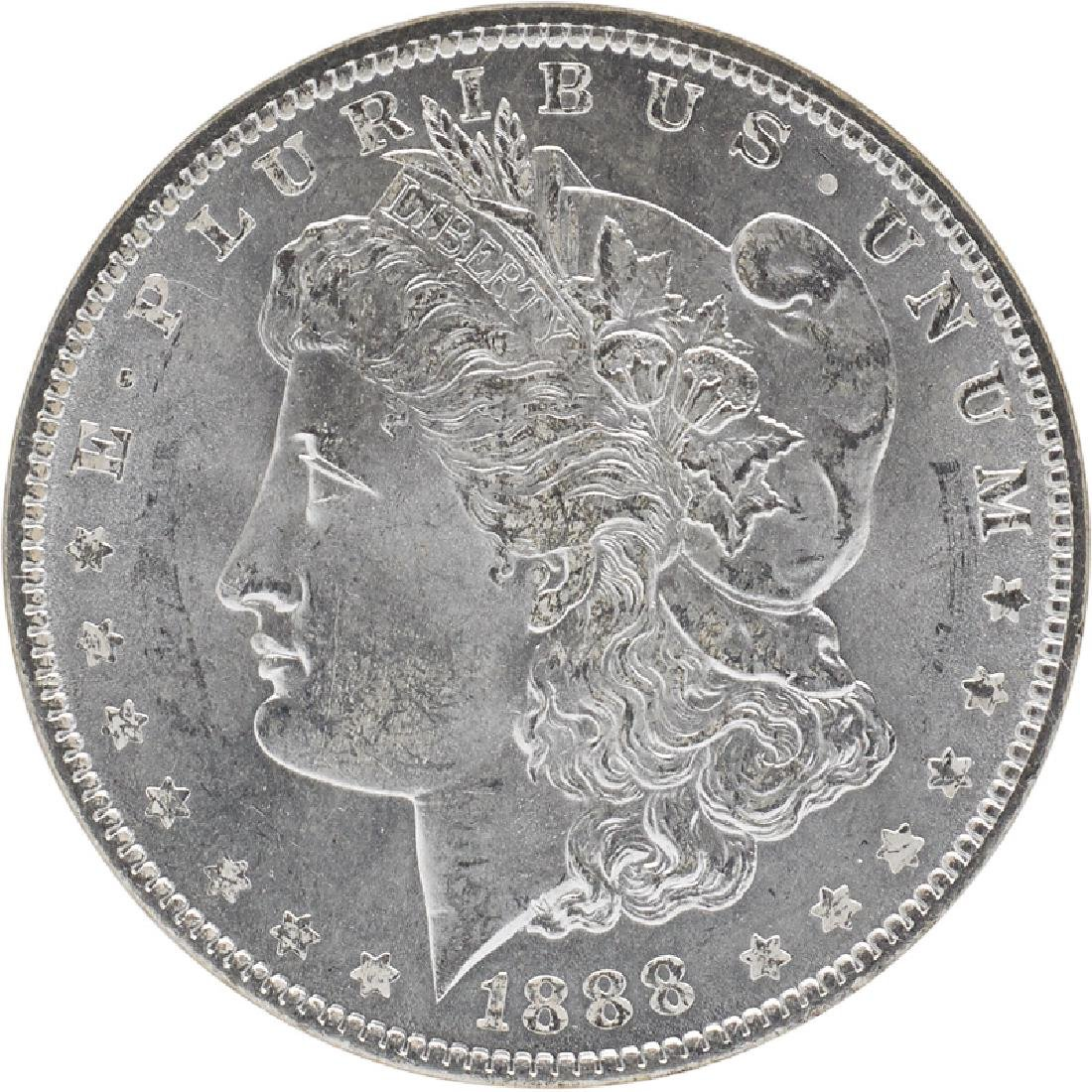 U.S. 1888 MORGAN $1 COIN
