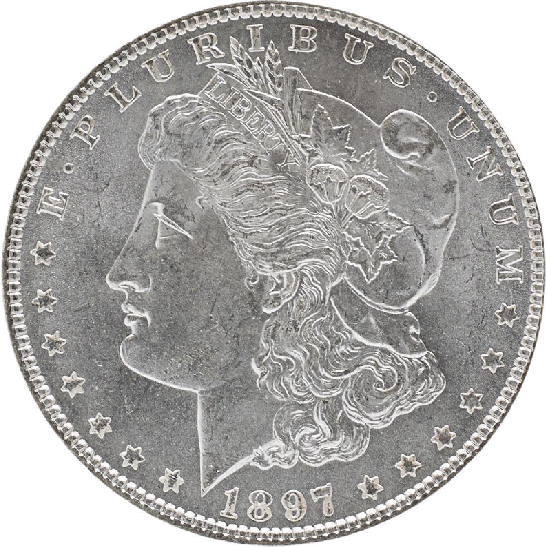 U.S. 1897 MORGAN $1 COIN