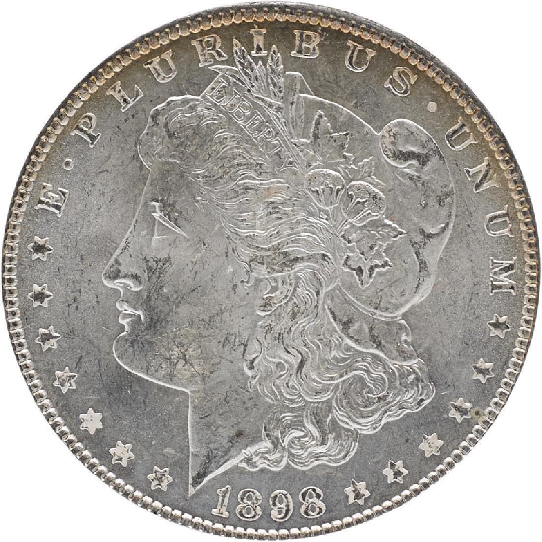 U.S. 1898 MORGAN $1 COIN