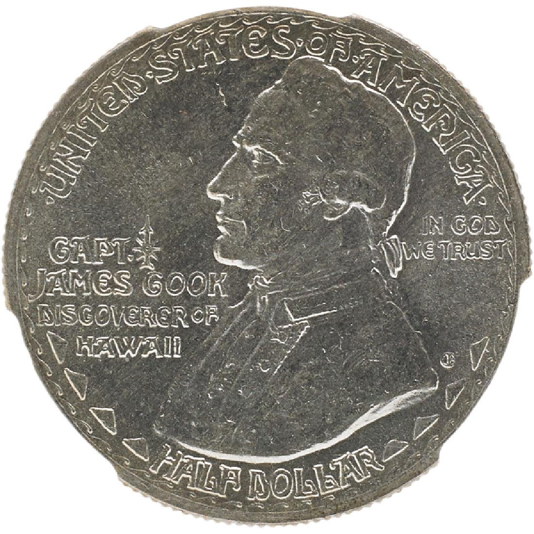 U.S.  1928 HAWAIIAN COMMEMORATIVE 50C COIN