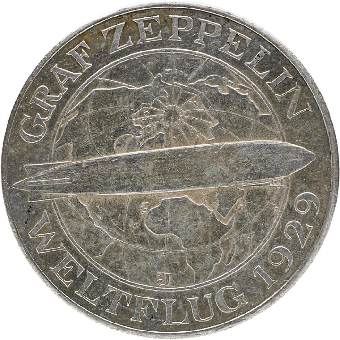 GERMAN GRAF ZEPPELIN COINS