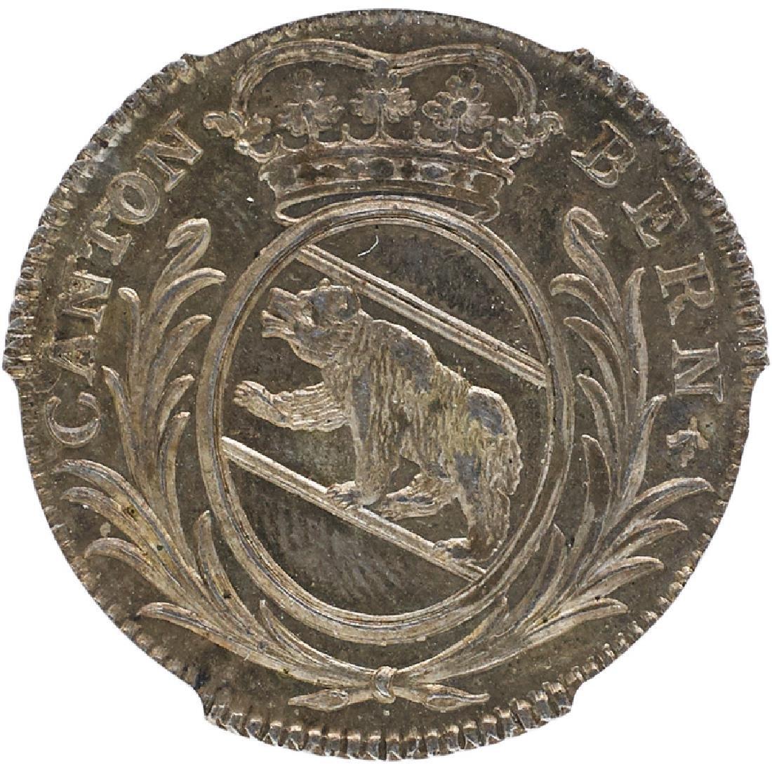 1808 SWITZERLAND BERN 5 BATZ COIN