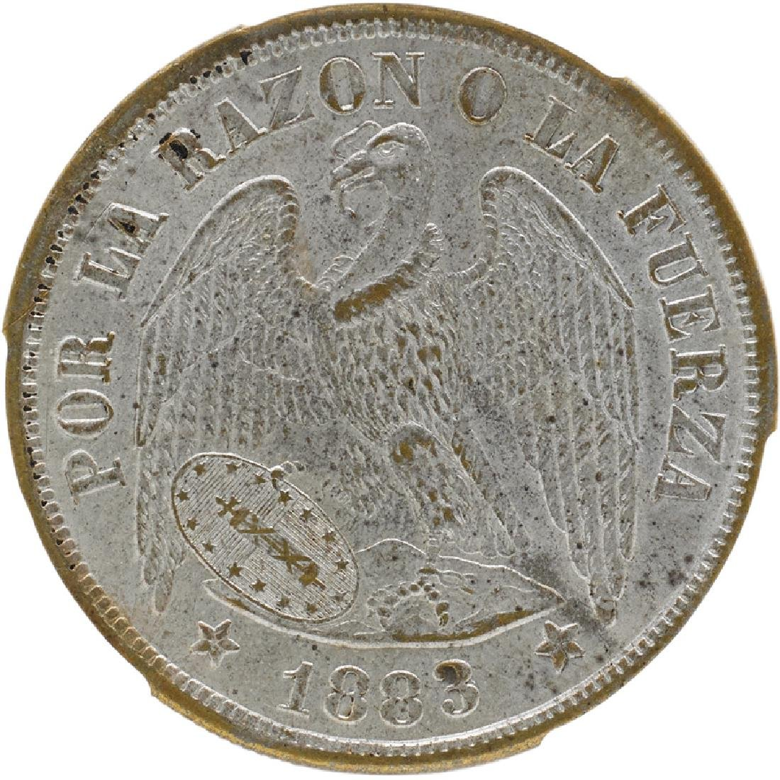 GRADED COINS OF SOUTH AND CENTRAL AMERICA