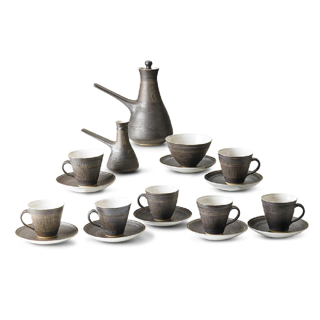 LUCIE RIE Coffee set