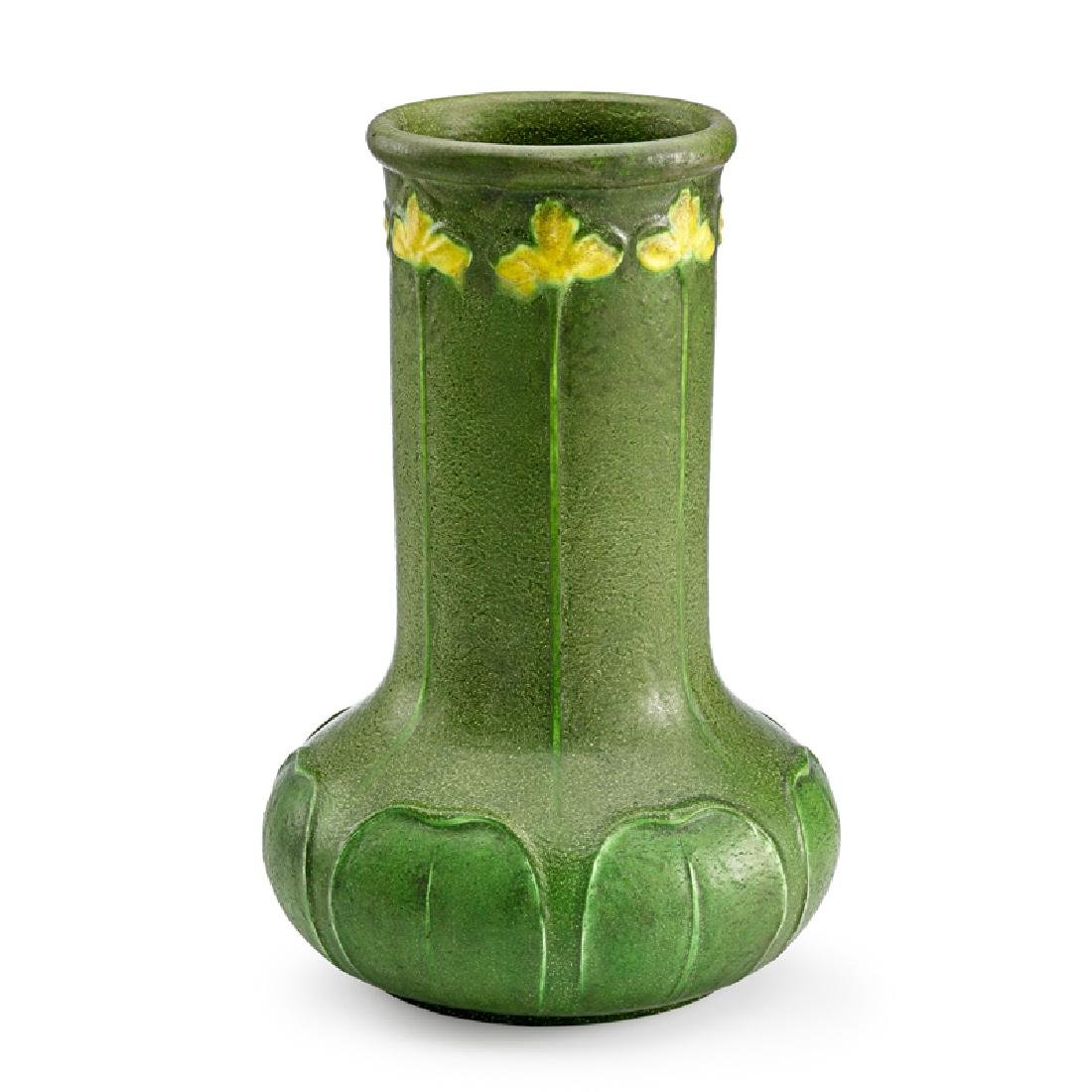 GRUEBY Fine and tall vase