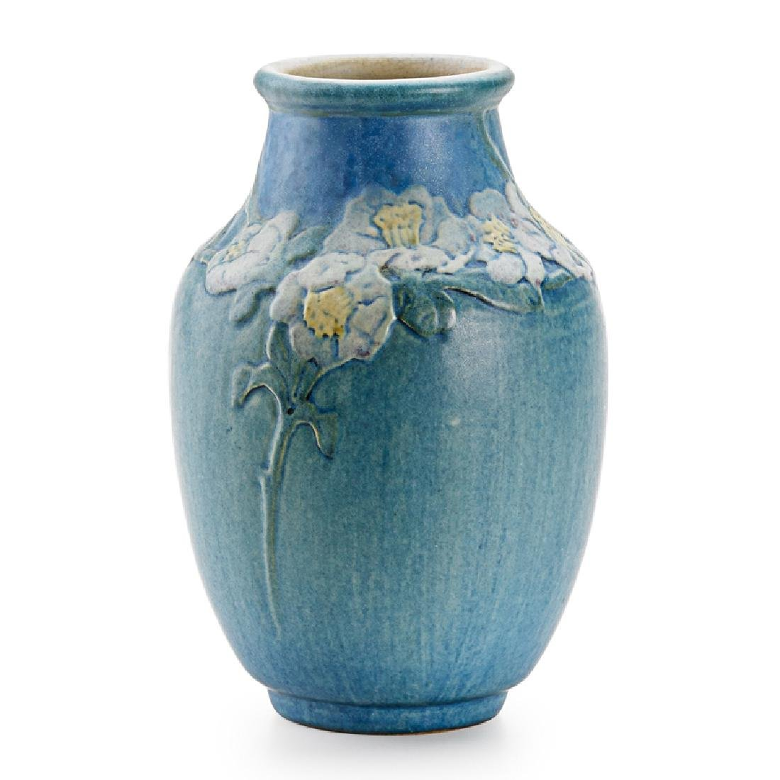 A.F. SIMPSON; NEWCOMB COLLEGE Vase with flowers