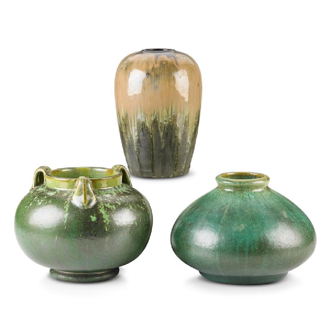 FULPER Three vases