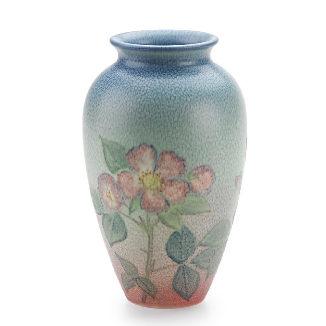 K. SHIRAYAMADANI; ROOKWOOD Double Vellum vase