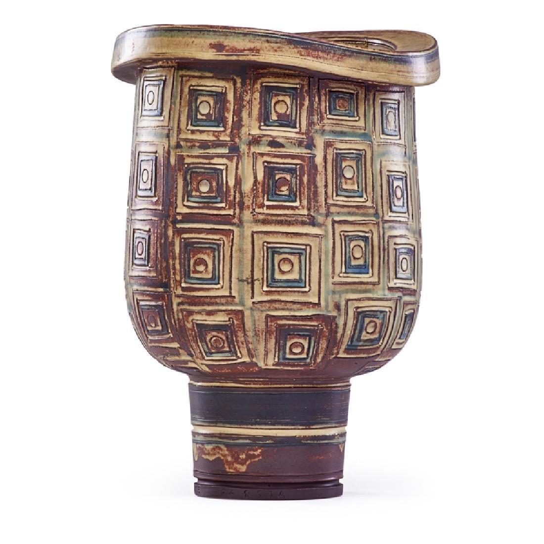 WILHELM KAGE Large Farsta vase