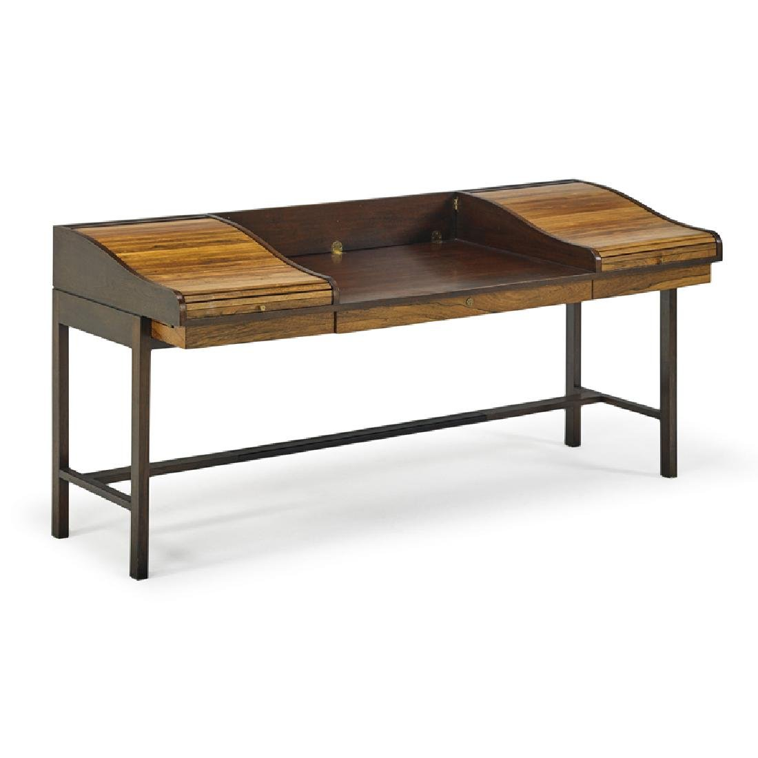 EDWARD WORMLEY Tambour desk