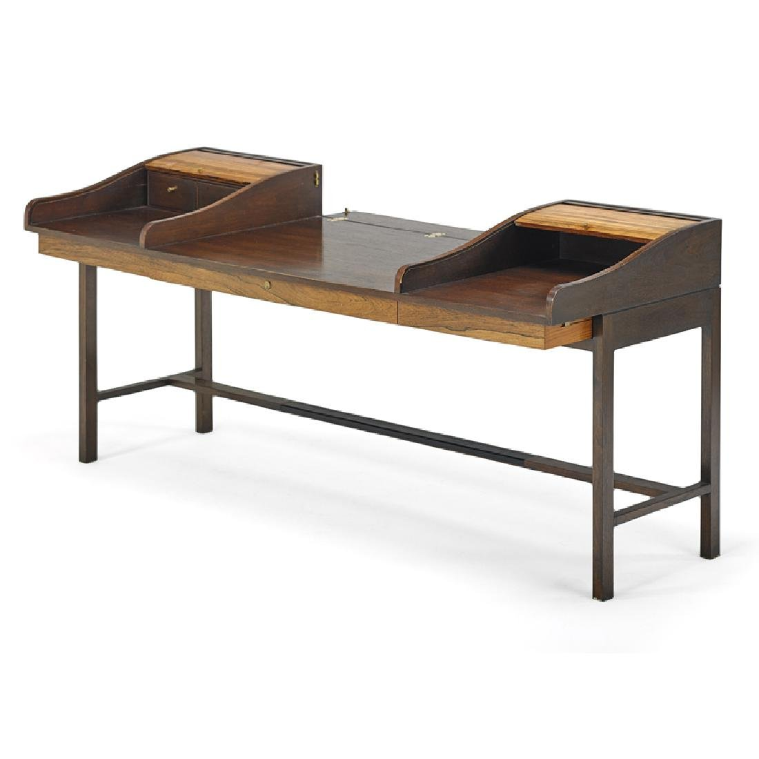 EDWARD WORMLEY Tambour desk - 3