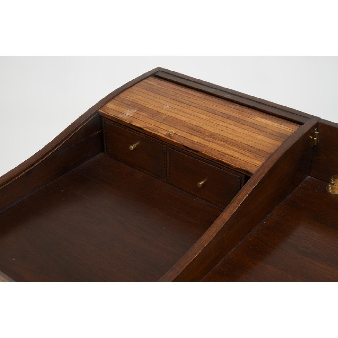 EDWARD WORMLEY Tambour desk - 6