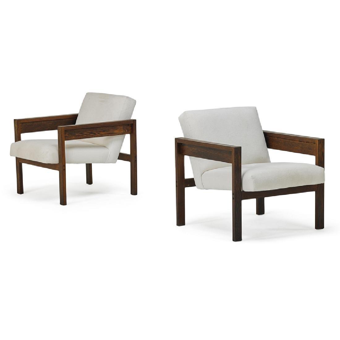 HEIN STOLLE; SPECTRUM Pair of armchairs