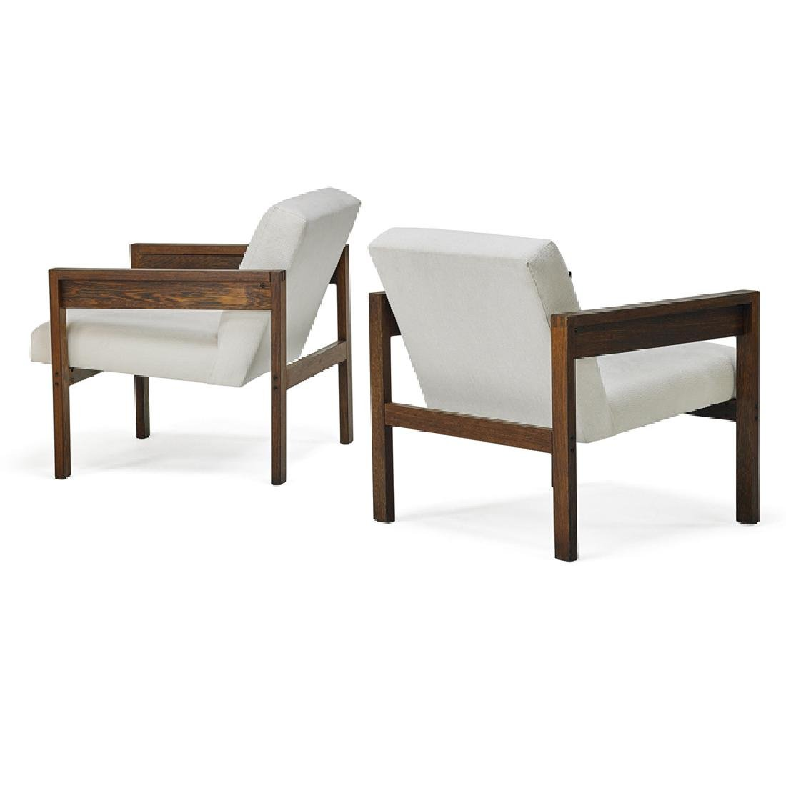 HEIN STOLLE; SPECTRUM Pair of armchairs - 2