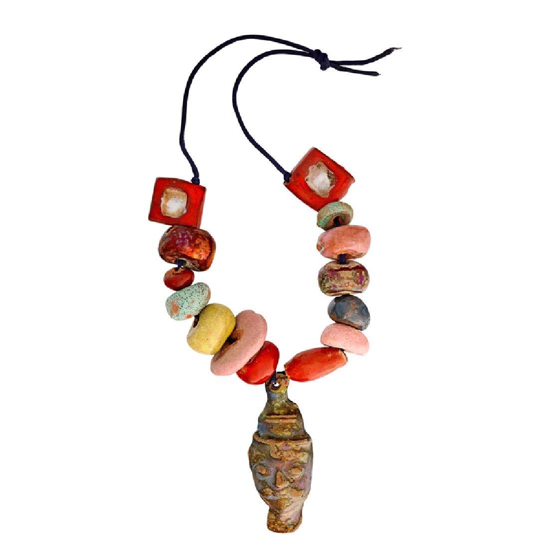 BEATRICE WOOD Rare necklace