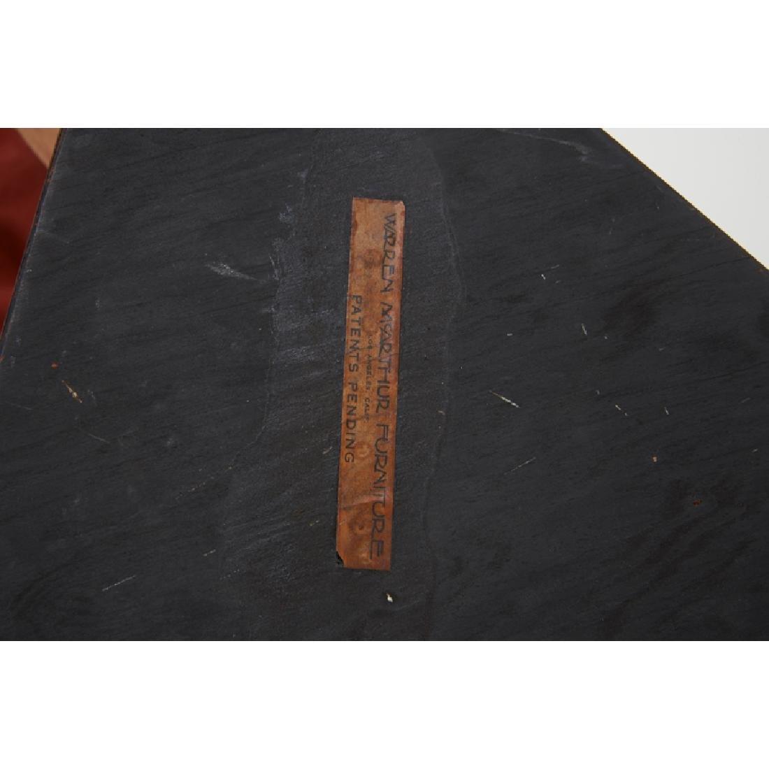 WARREN McARTHUR Triangular side table - 5