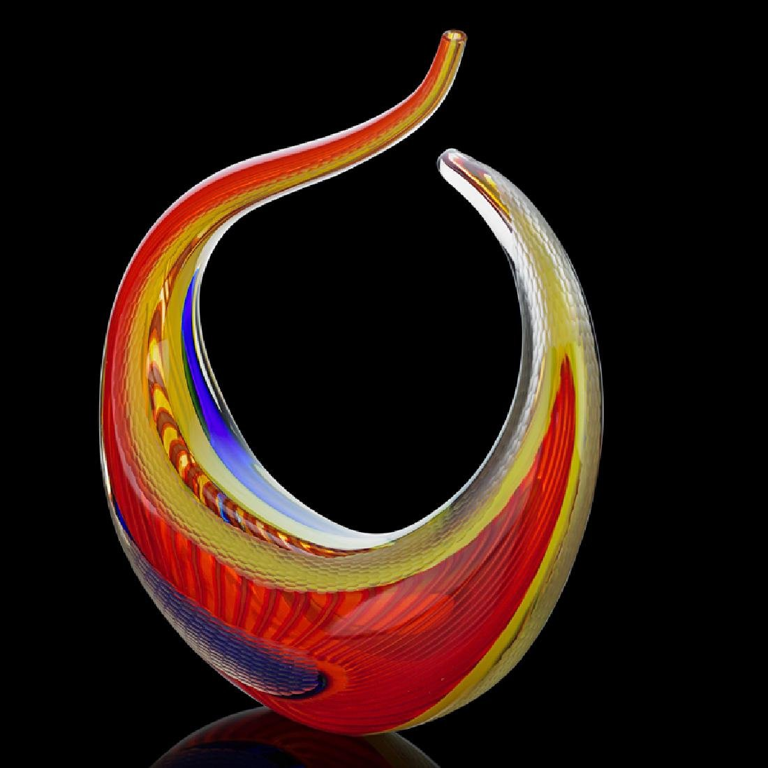 LINO TAGLIAPIETRA Glass sculpture
