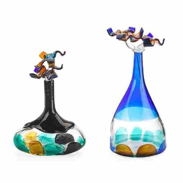 LUCIANO GASPARI; SALVIATI Two bottles