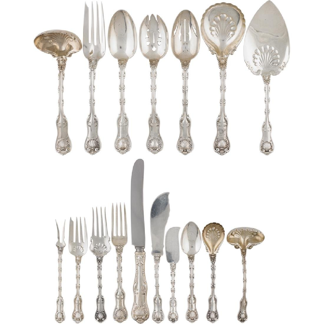 "WHITING STERLING SILVER ""IMPERIAL QUEEN"" FLATWARE"