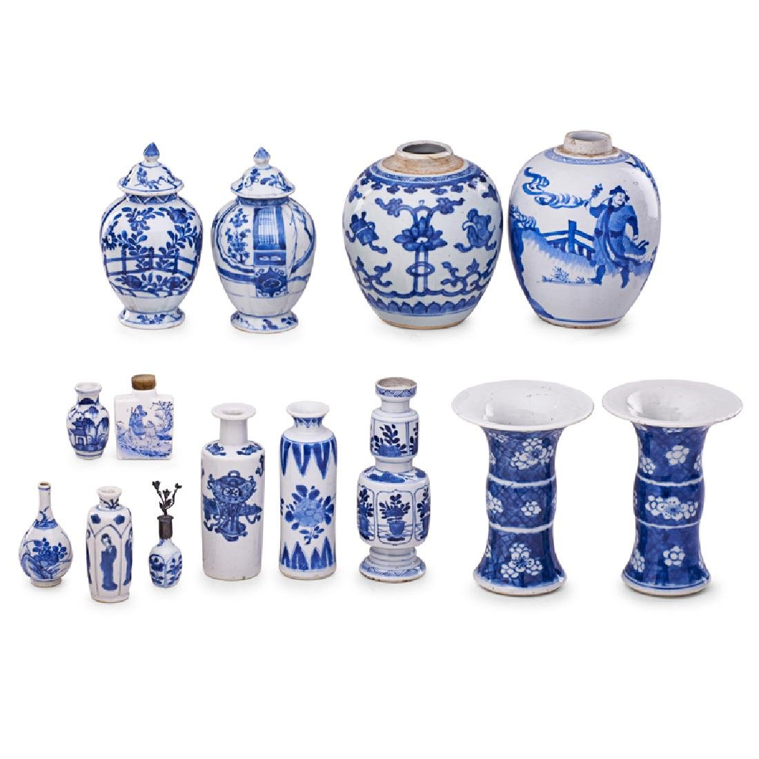 CHINESE EXPORT PORCELAIN VASES