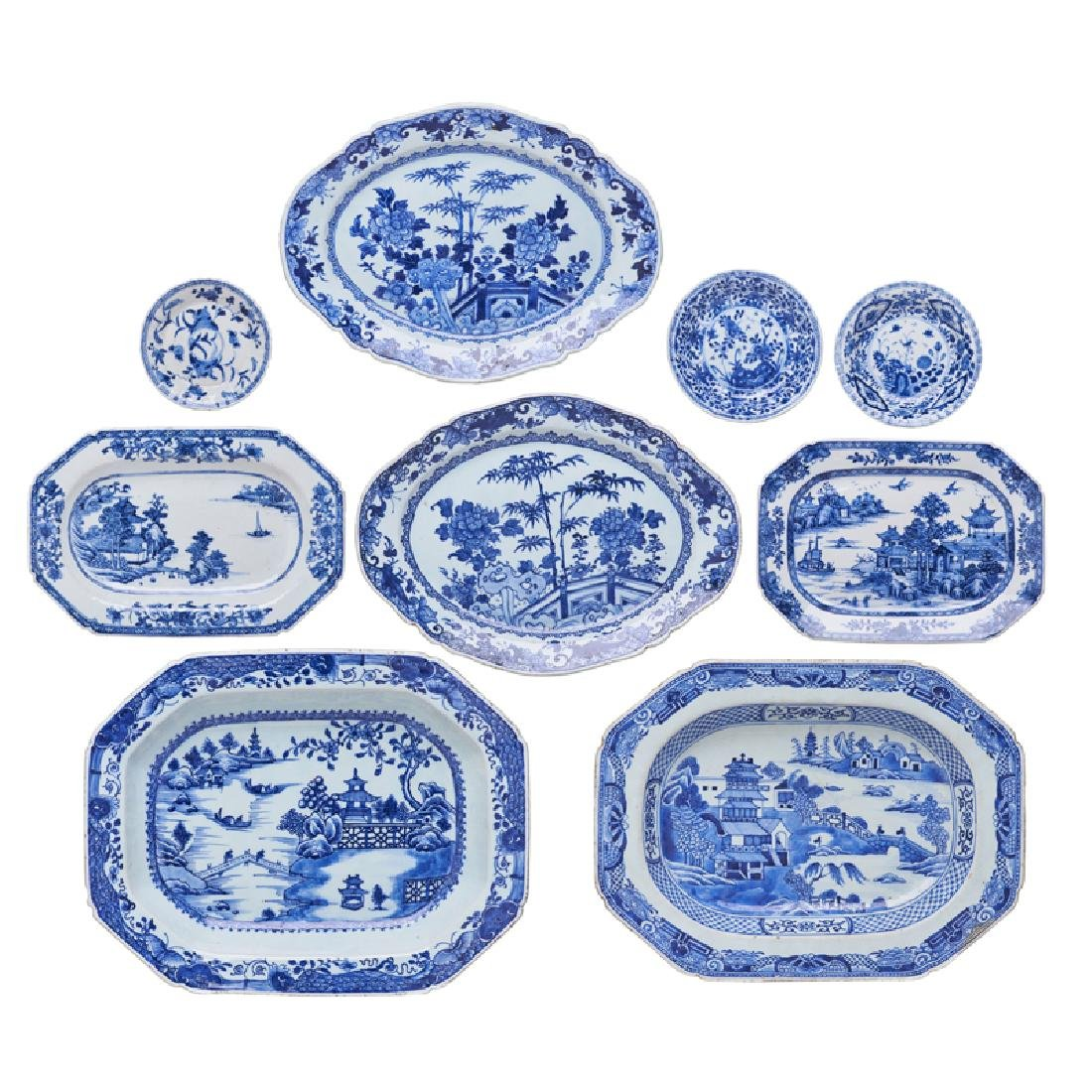 CHINESE EXPORT PORCELAIN TABLEWARE