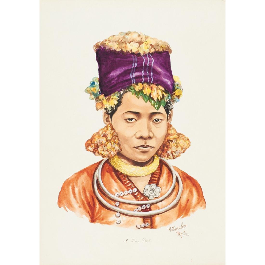 YATANABON MG SU (Burmese, 20th c.) - 2