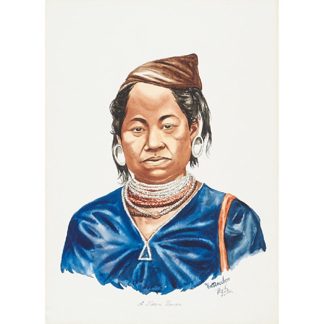 YATANABON MG SU (Burmese, 20th c.) - 3