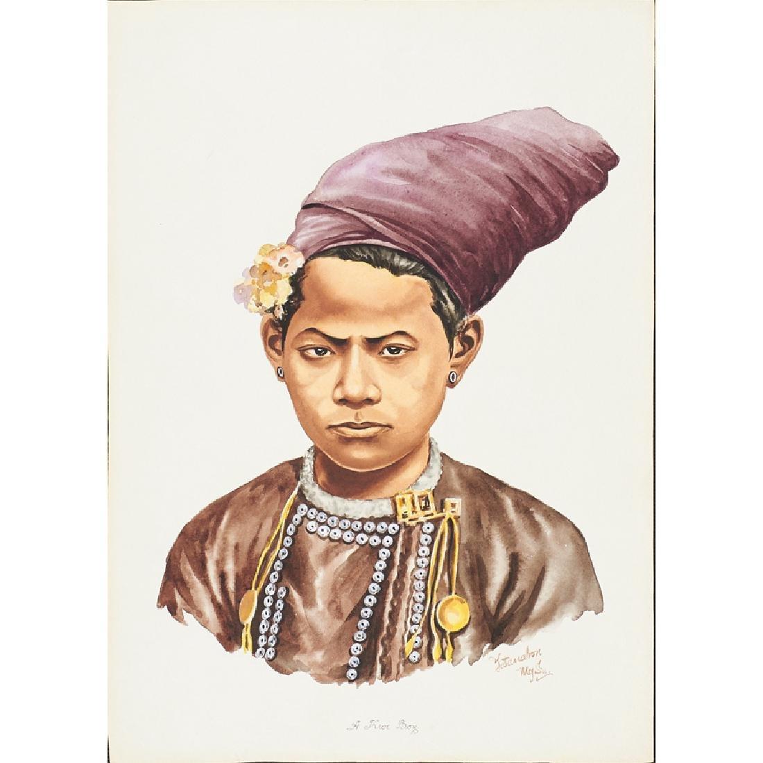 YATANABON MG SU (Burmese, 20th c.) - 5