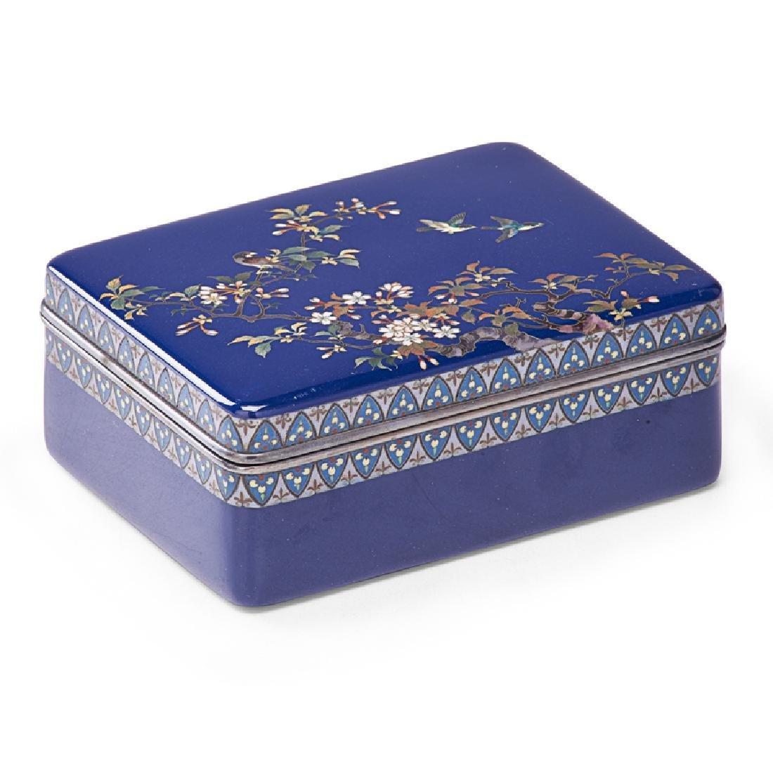 HAYASHI KODENJI CLOISONNE BOX