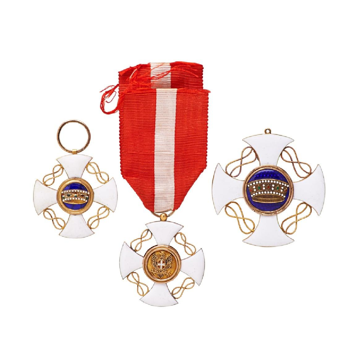 ORDER OF THE CROWN OF ITALY MEDALS