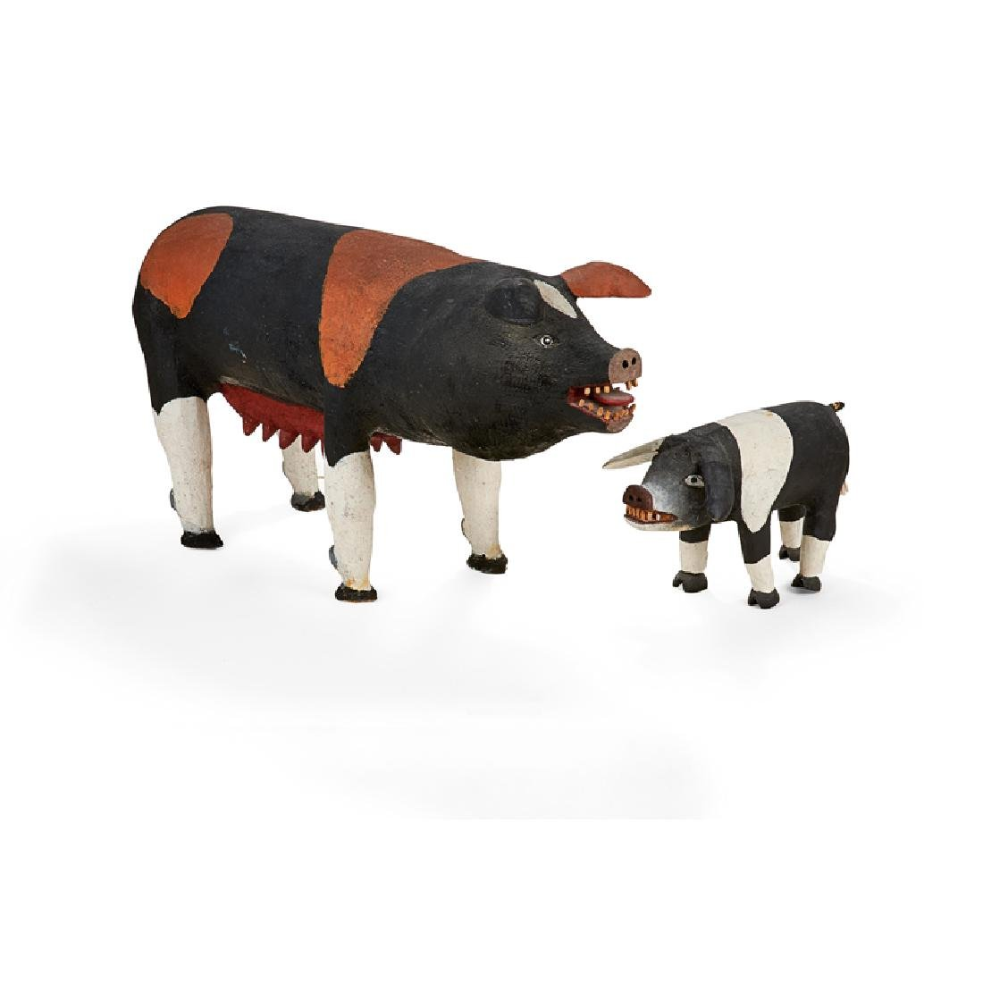 FELIPE ARCHULETA MOTHER AND BABY PIG - 3
