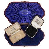 COLLECTION OF ANTIQUE JEWELRY BOXES