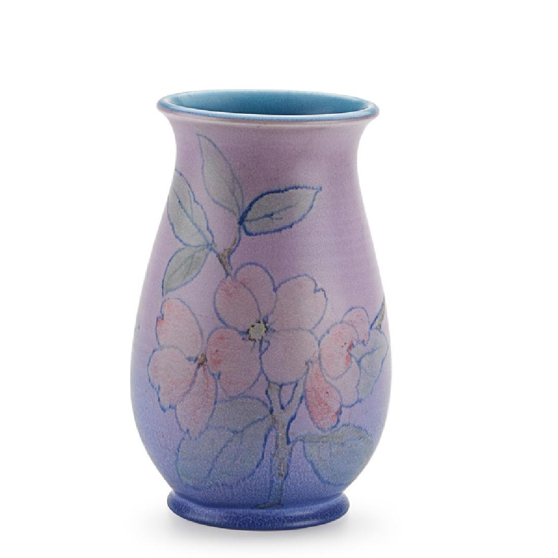 KATHERINE JONES; ROOKWOOD Double Vellum vase