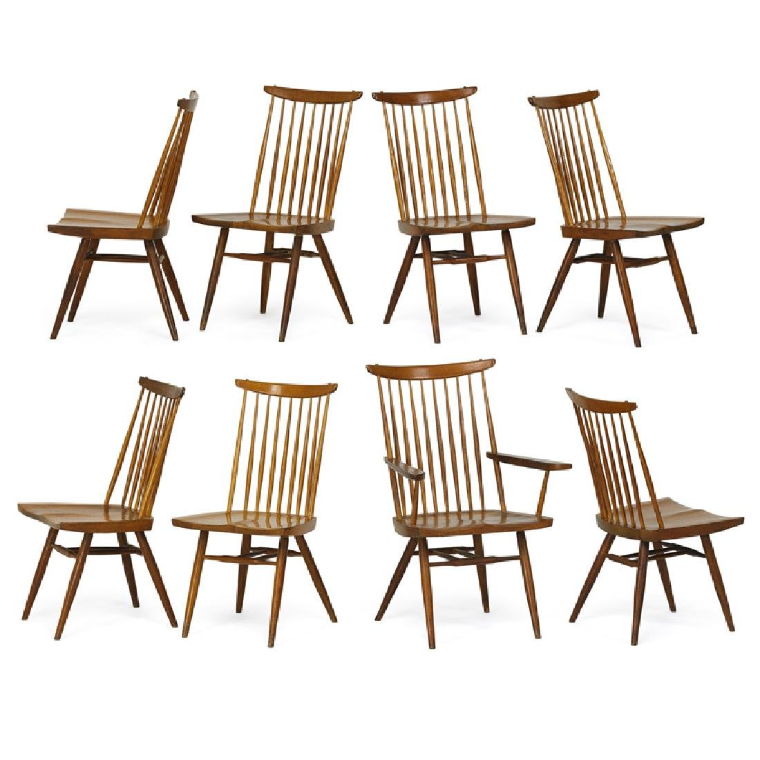 GEORGE NAKASHIMA Eight New chairs