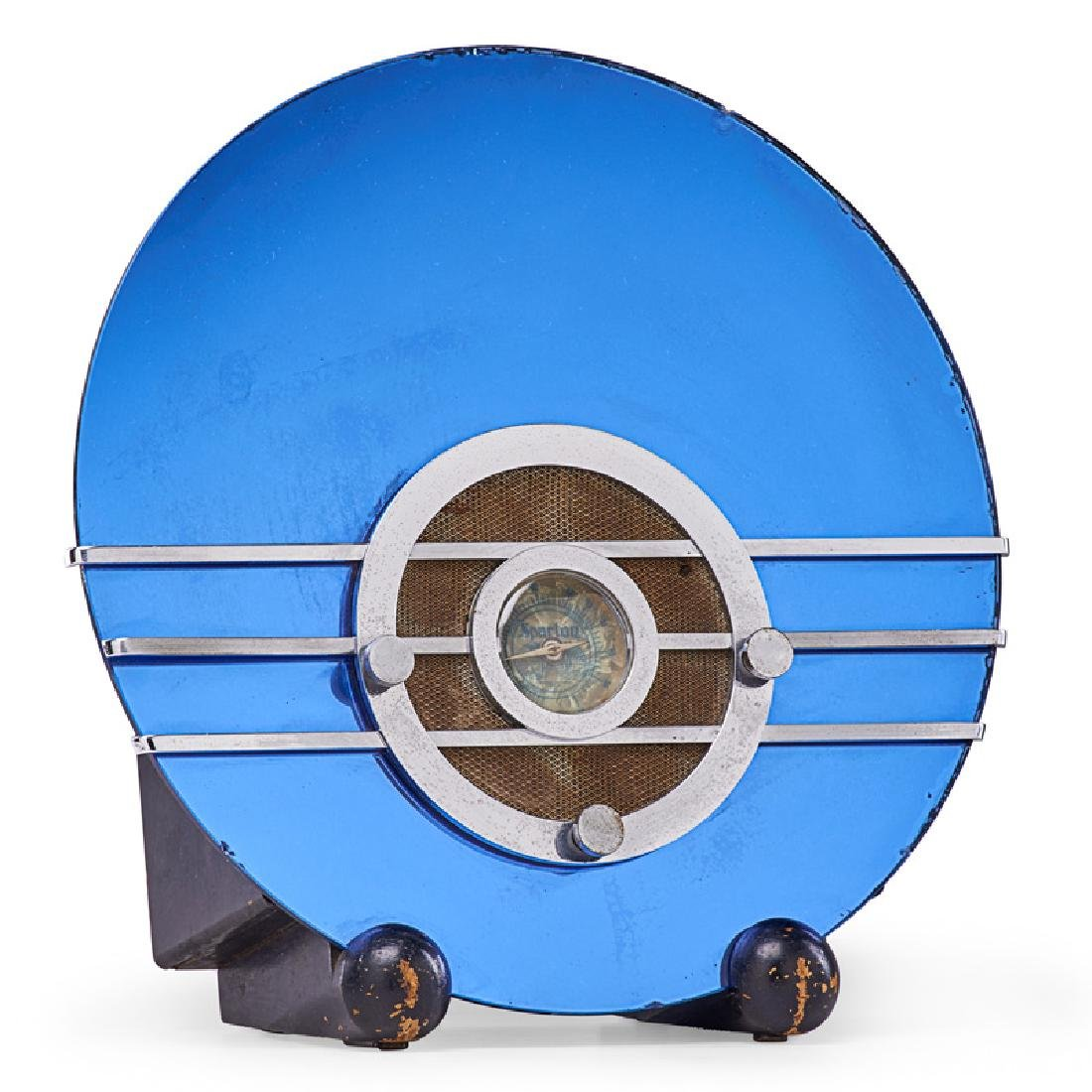 WALTER DORWIN TEAGUE Bluebird radio