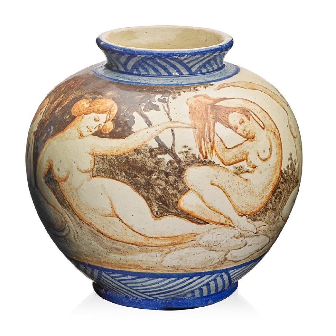 RORSTRAND Vase with nudes