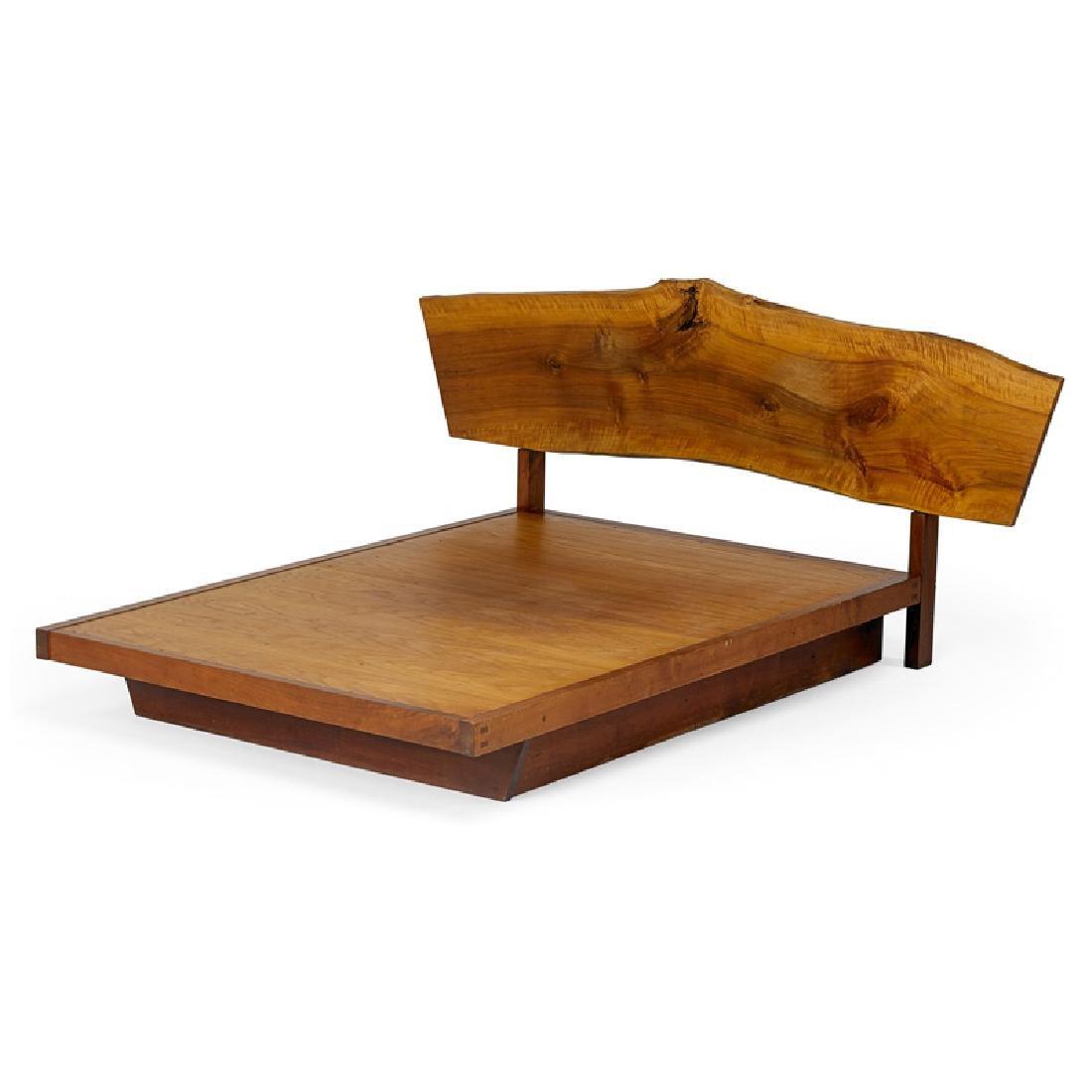 GEORGE NAKASHIMA Plank Headboard Frame