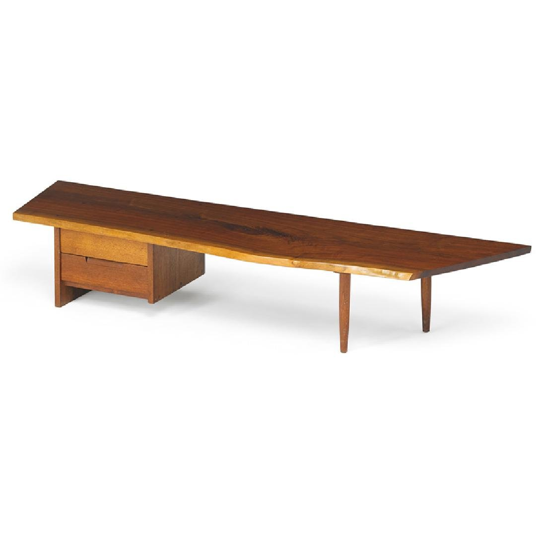 GEORGE NAKASHIMA Bench with drawers