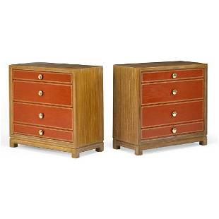 TOMMI PARZINGER; CHARAK MODERN Pair of dressers