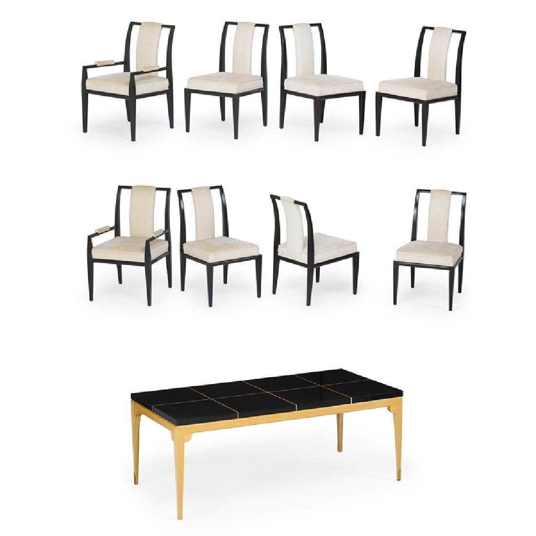 TOMMI PARZINGER Dining table and chairs
