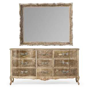 MAX KUEHNE Dresser and large mirror