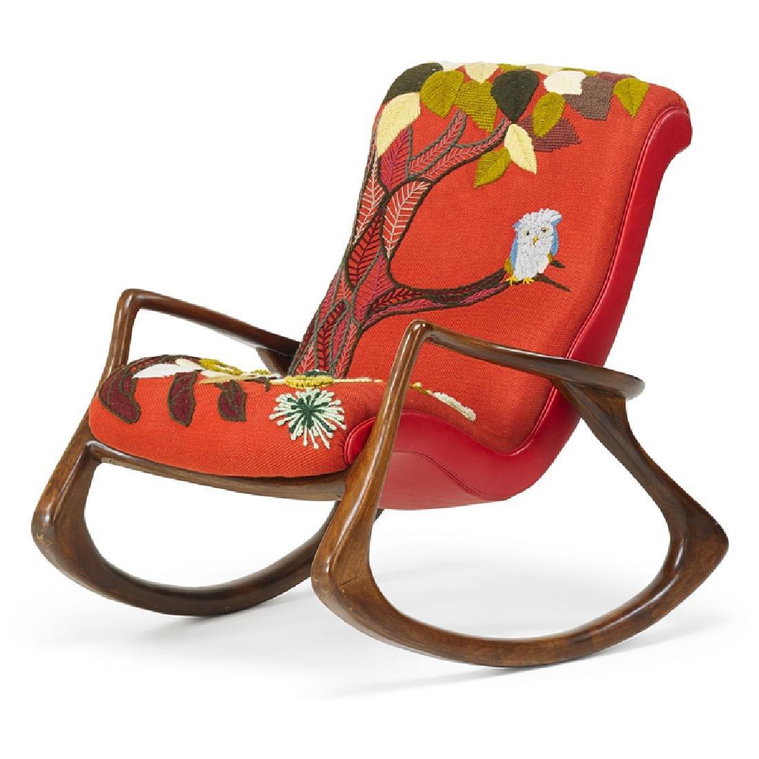 VLADIMIR KAGAN Rocking chair