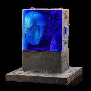 BERTIL VALLIEN Glass sculpture