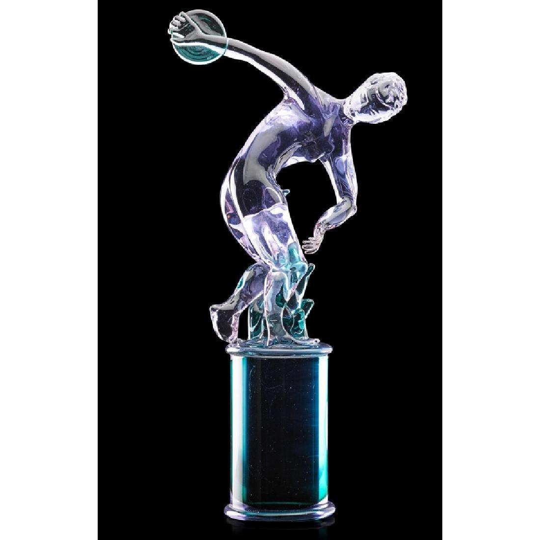 LIVIO SEGUSO Glass sculpture