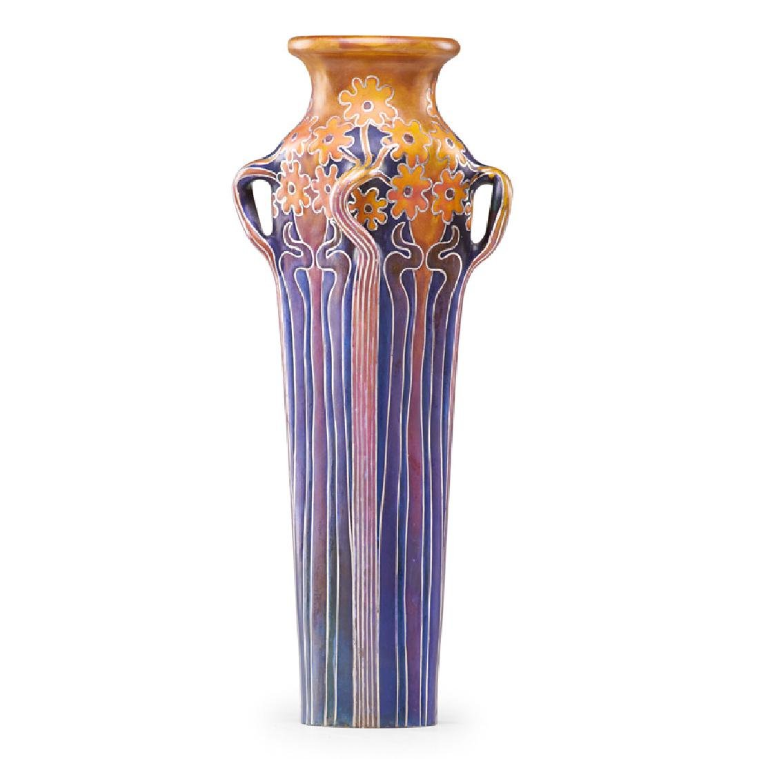 ZSOLNAY Exceptional vase