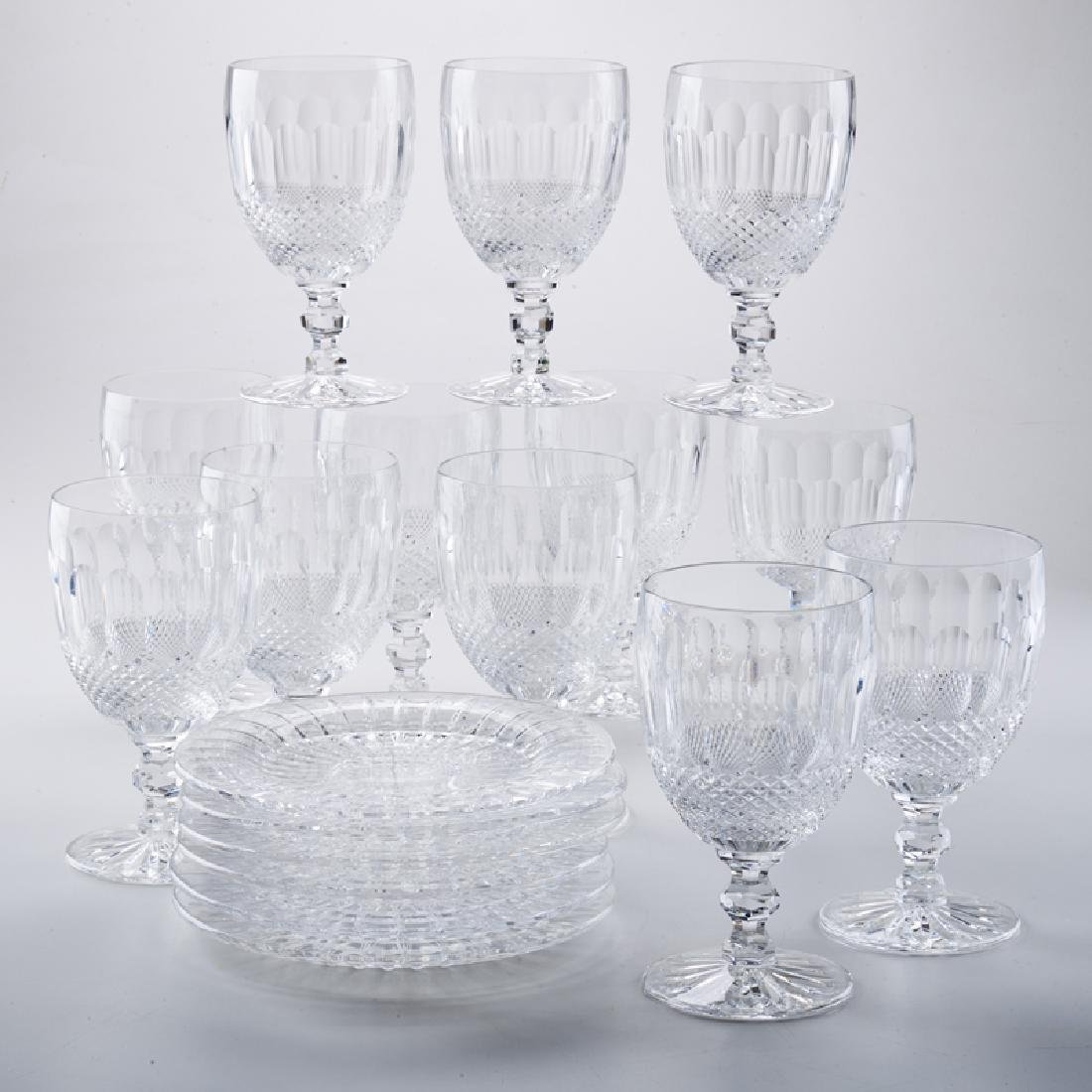 WATERFORD CRYSTAL; VAL SAINT LAMBERT