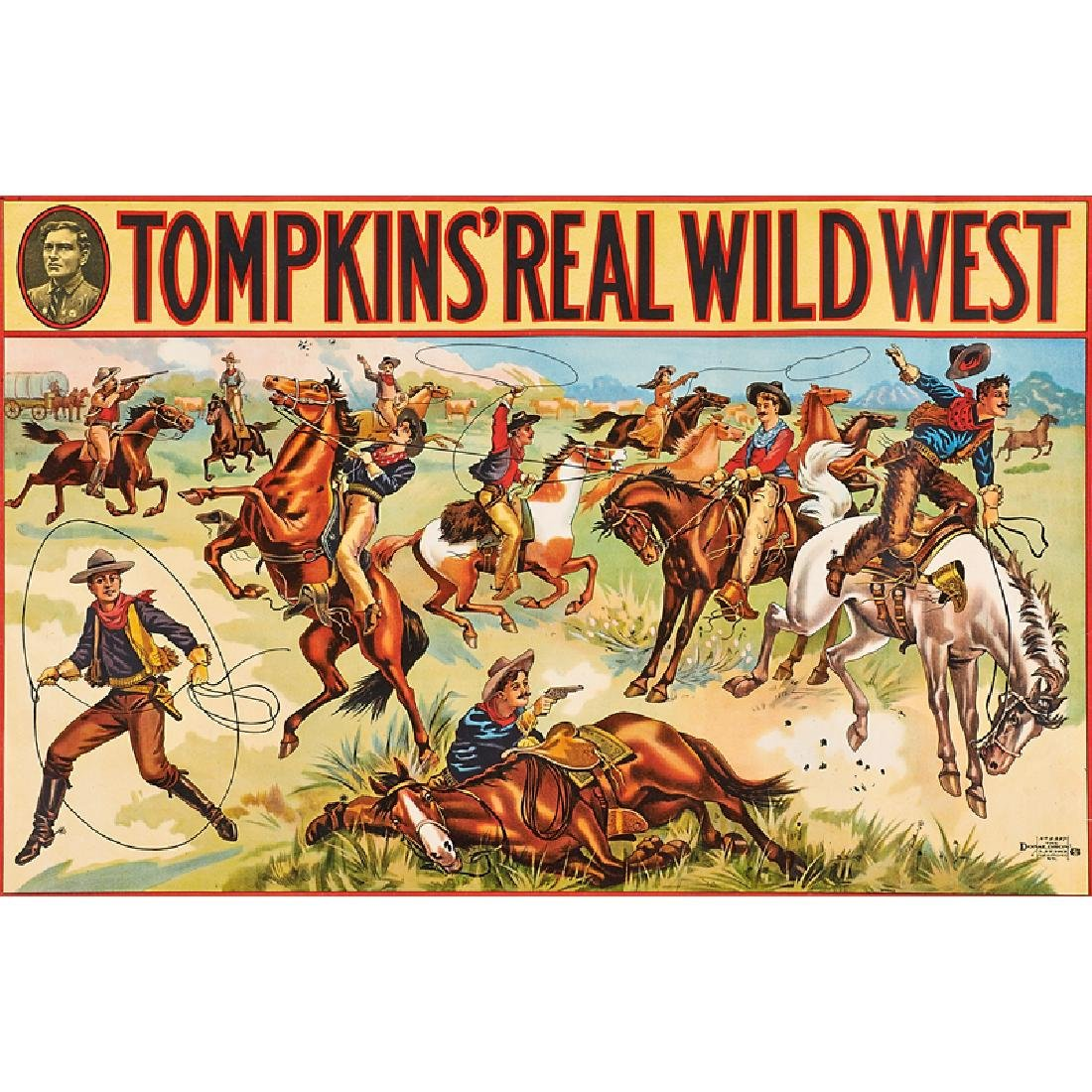 TOMPKINS' REAL WILD WEST POSTERS
