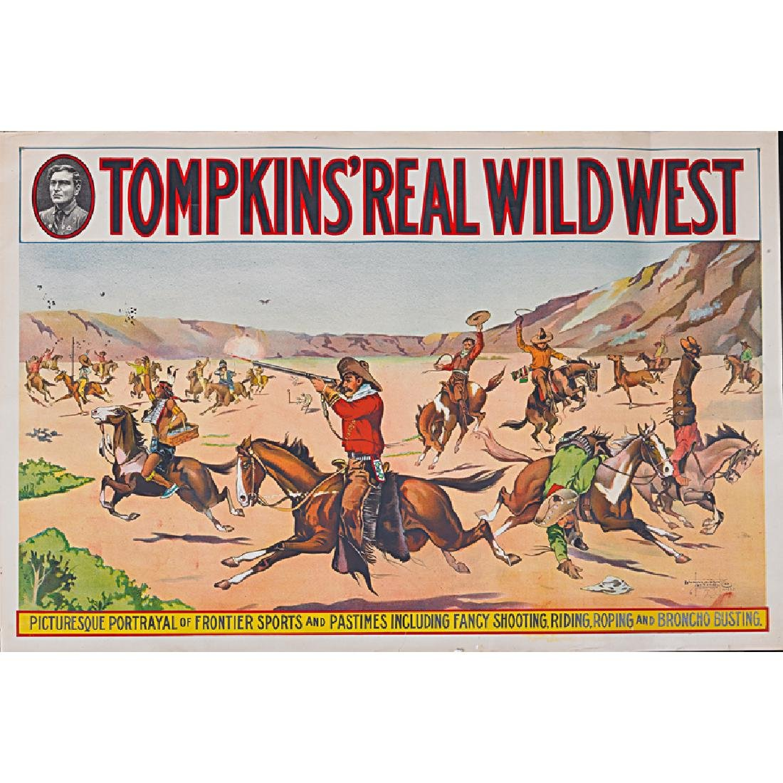 TOMPKINS' REAL WILD WEST POSTERS - 3