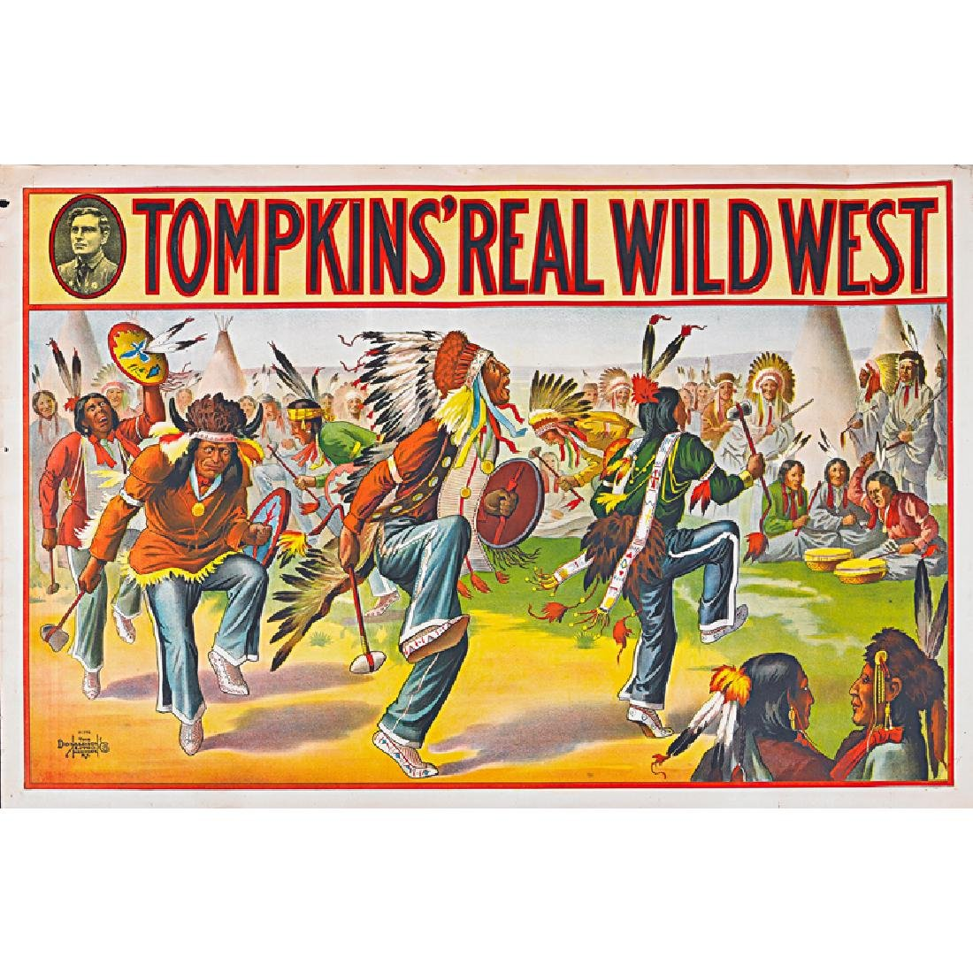 TOMPKINS' REAL WILD WEST POSTERS - 4